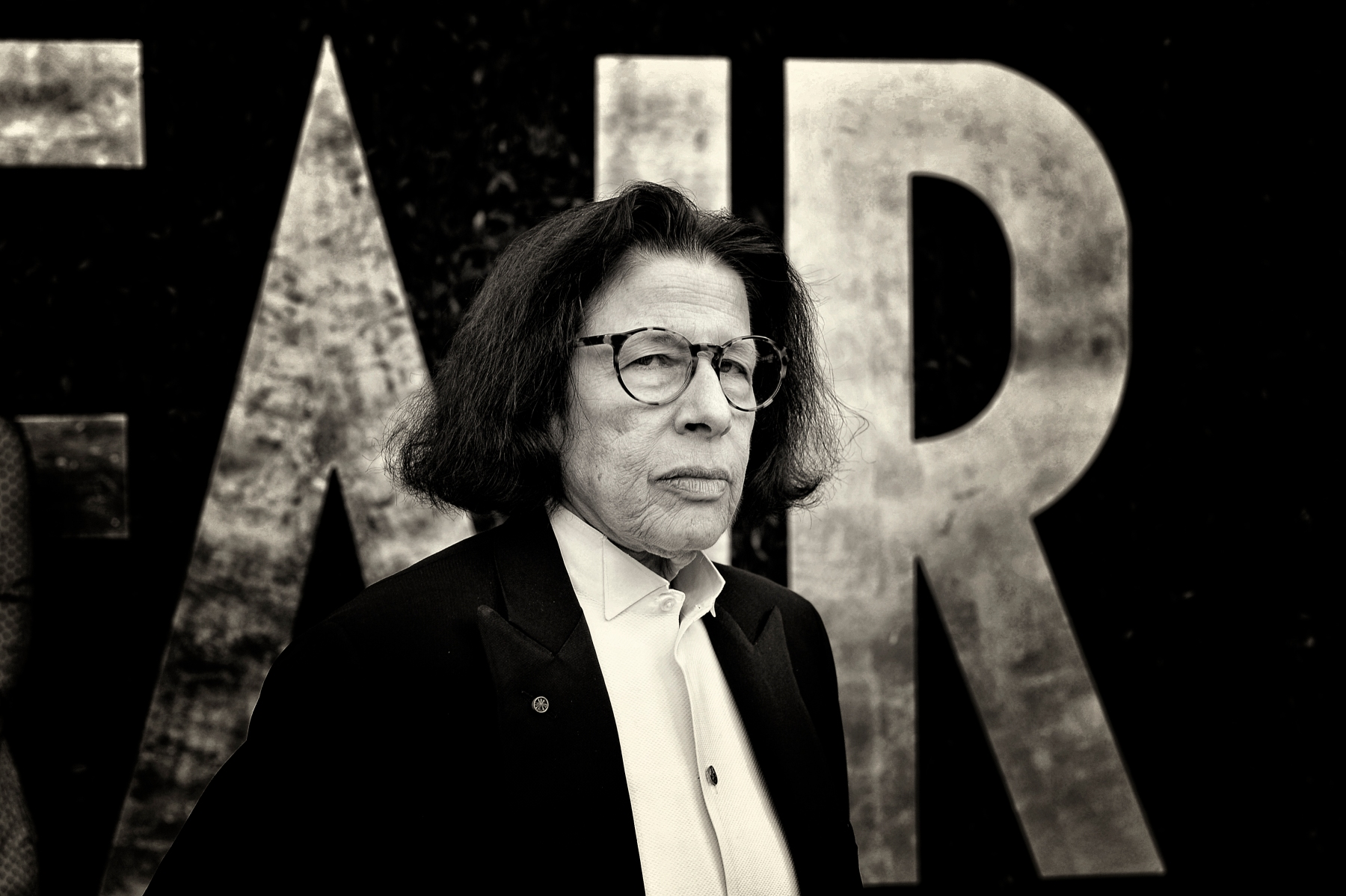 Fran Lebowitz arrives for the Vanity Fair Oscar Party.  (Larry Busacca/VF13 / Contributor)