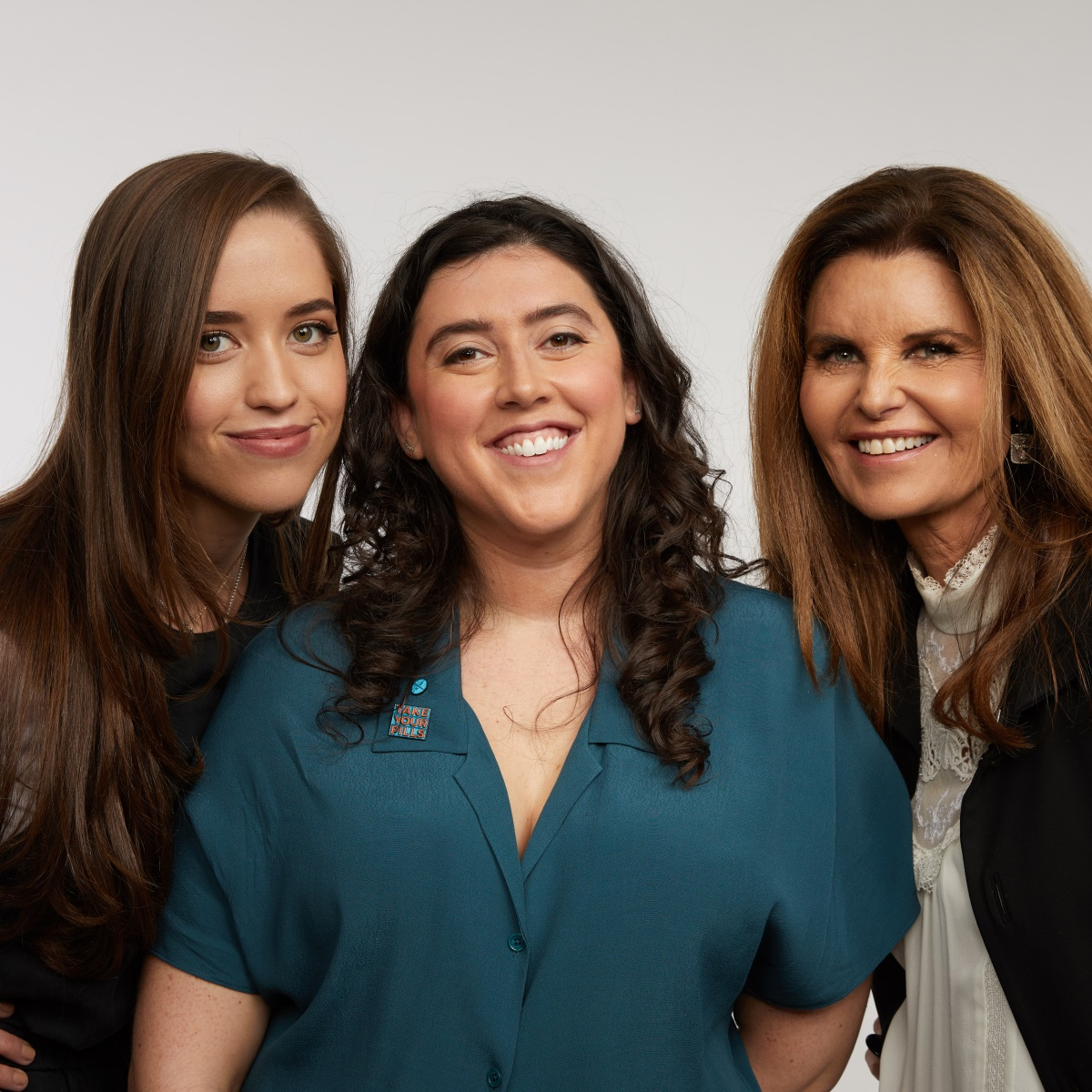 Executive Producer Christina Schwarzenegger, Director Alison Klayman and Executive Producer Maria Shriver from the film Take Your Pills.