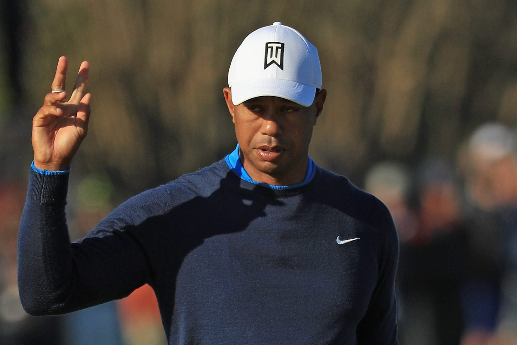Tiger Woods in 2018 in Orlando, Florida. (Photo by Mike Ehrmann/Getty Images)