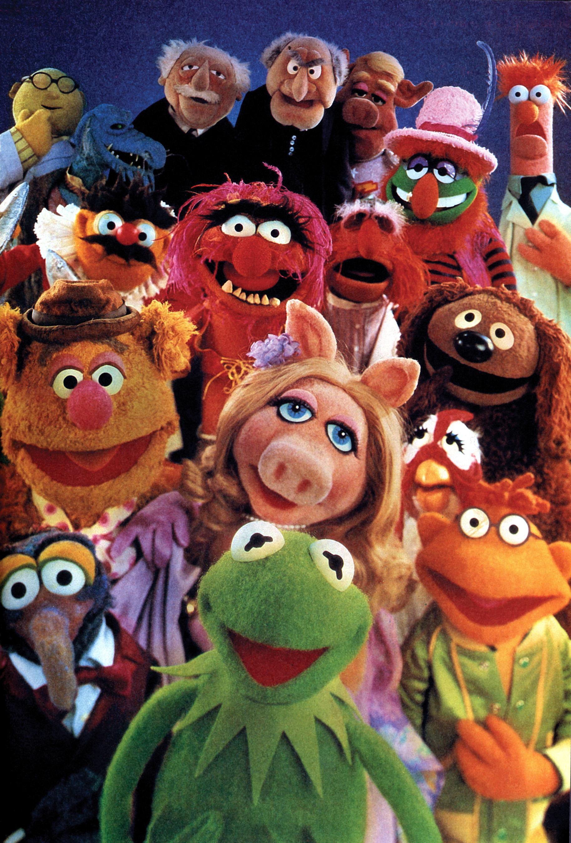 Animal The Muppets FUN Kermit Miss Piggy Beaker Fozzie Bear Gonzo
