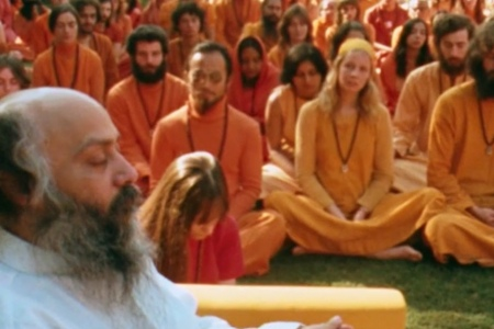 A still from 'Wild, Wild Country.' (Netflix)