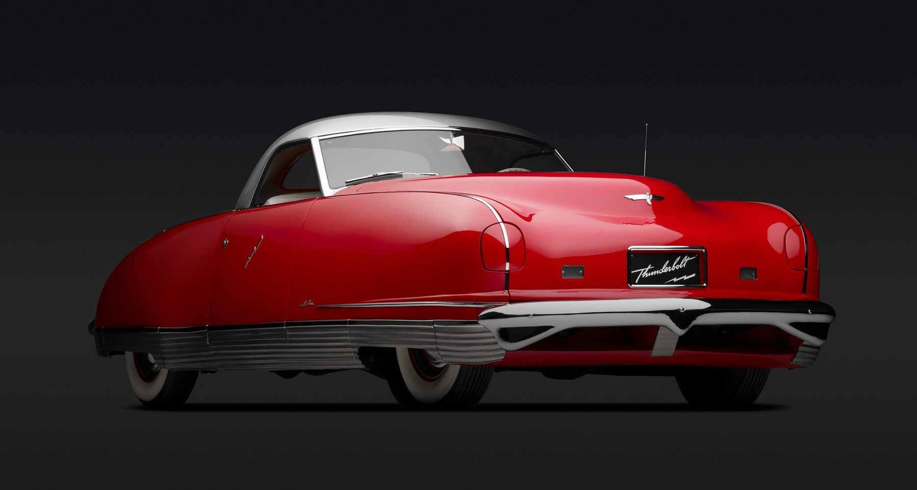 Chrysler Thunderbolt Roadster, 1941. Photo: Peter Harholdt (Courtesy of Roger Willbanks/Portland Art Museum)