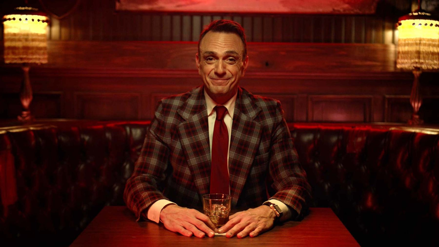 Hank Azaria in the appropriately-Redemption-themed second season of 'Brockmire.' (IFC)
