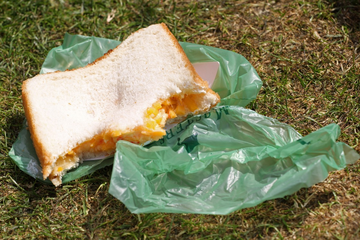 One of Augusta National's famed pimento cheese sandwiches is seen during the second round of the 2011 Masters Tournament at Augusta National Golf Club on April 8, 2011 in Augusta, Georgia.  (Photo by Jamie Squire/Getty Images)