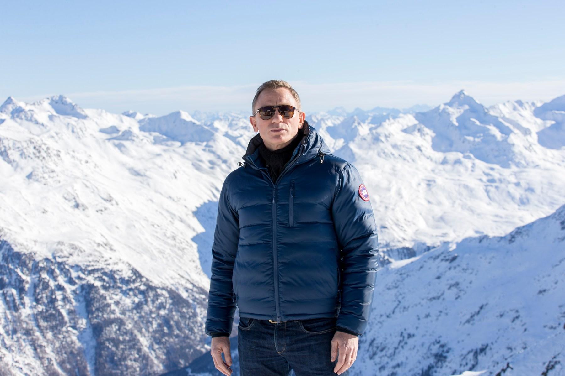 """Daniel Craig poses at ski resort in Soelden, Austria featured in """"Spectre.""""  (Jan Hetfleisch/Getty Images)"""