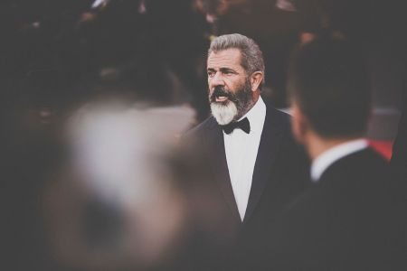 Director Mel Gibson attends the premiere of 'Hacksaw Ridge' during the 73rd Venice Film Festival at Sala Grande on September 4, 2016 in Venice, Italy. (Claudio Lavenia/Getty Images)