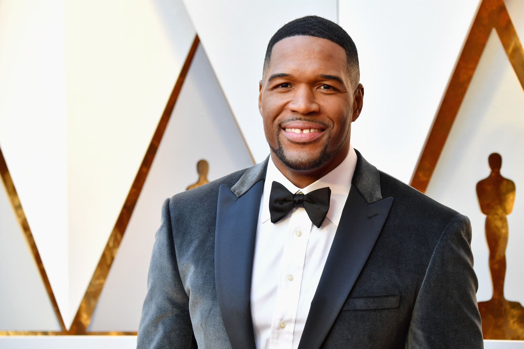 Michael Strahan attends the 90th Annual Academy Awards at Hollywood & Highland Center on March 4, 2018 in Hollywood, California.  (Photo by Jeff Kravitz/FilmMagic)