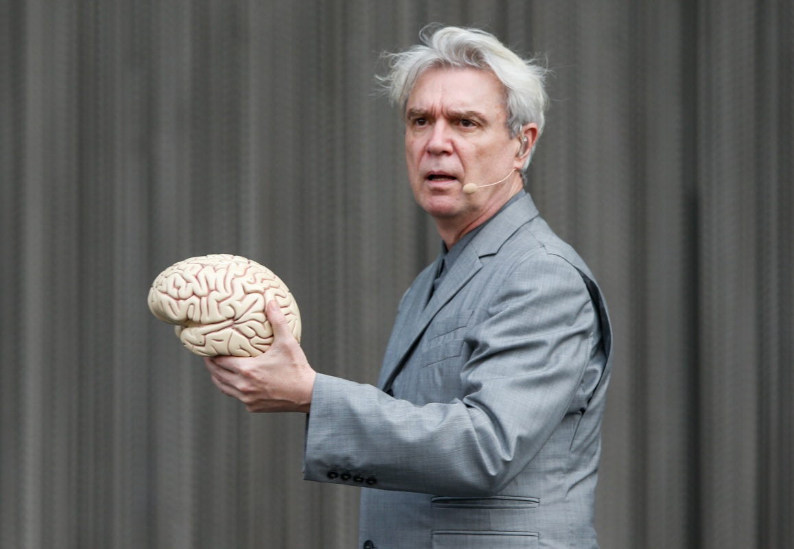 Talking Heads frontman David Byrne
