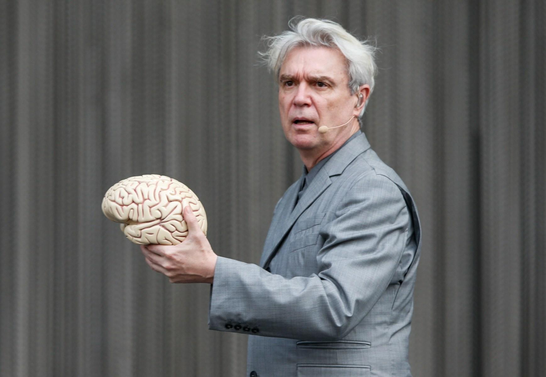 Talking Heads frontman David Byrne