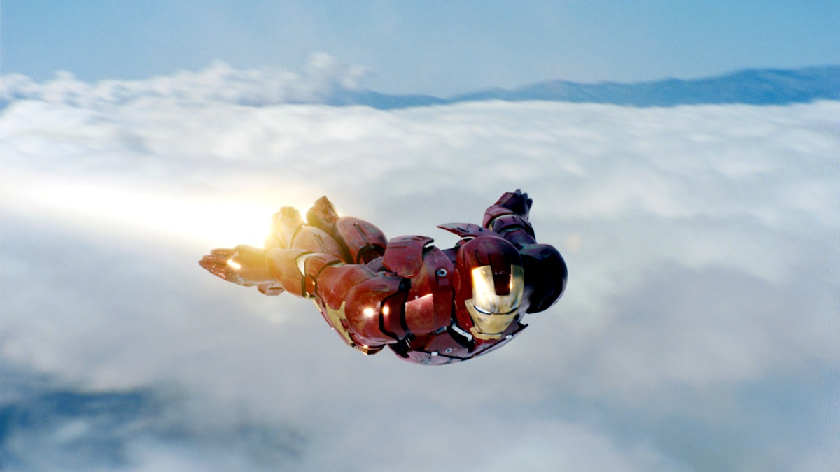Robert Downey Jr. in IRON MAN ©Paramount/Courtesy Everett Collection