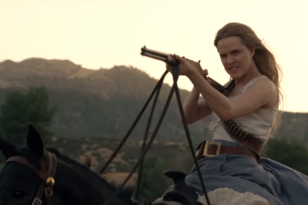 Evan Rachel Wood in 'Westworld' Season 2. (HBO)