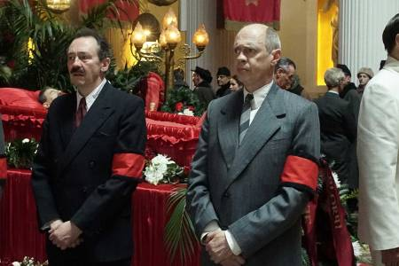 A scene from 'The Death of Stalin.'