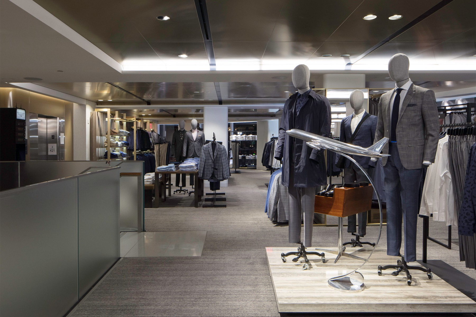 Nordstrom's first men's store in NYC.(Via Nordstrom)