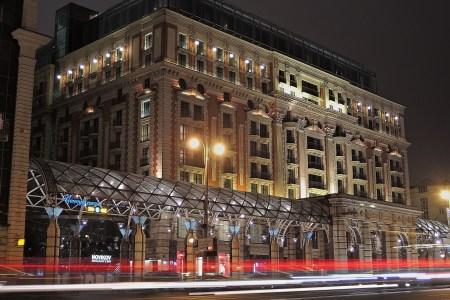 Hotel Ritz-Carlton in downtown Moscow on Tverskaya Street (Vladimir Varfolomeev/Flickr)