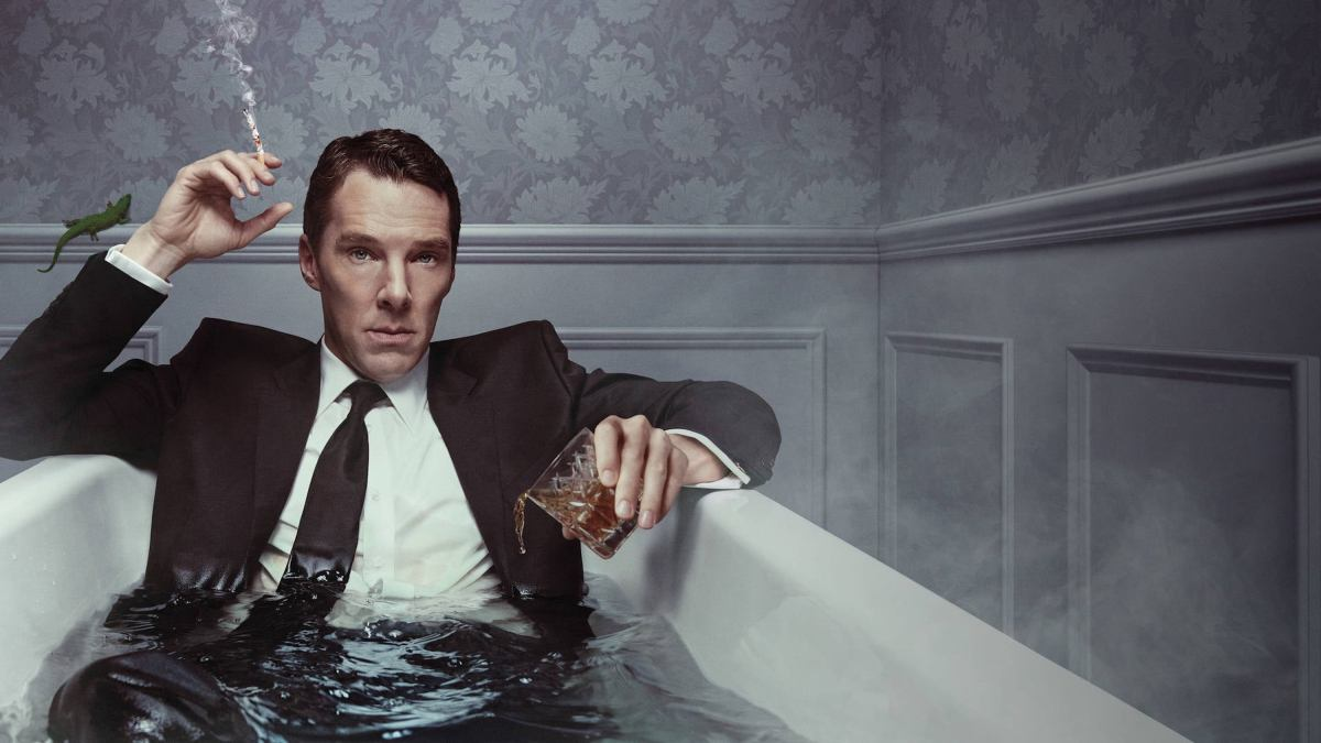 Benedict Cumberbatch in 'Patrick Melrose.' (Showtime)