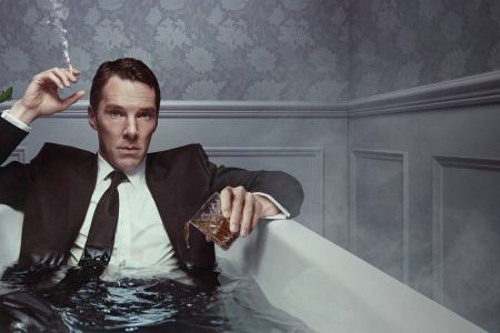 Benedict Cumberbatch in 'Patrick Melrose.' (Showtime)