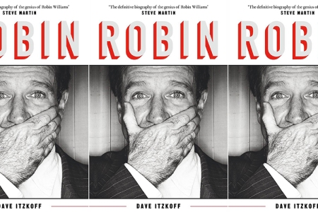 The cover of Robin, Dave Itzkoff's forthcoming biography of the late comedian.