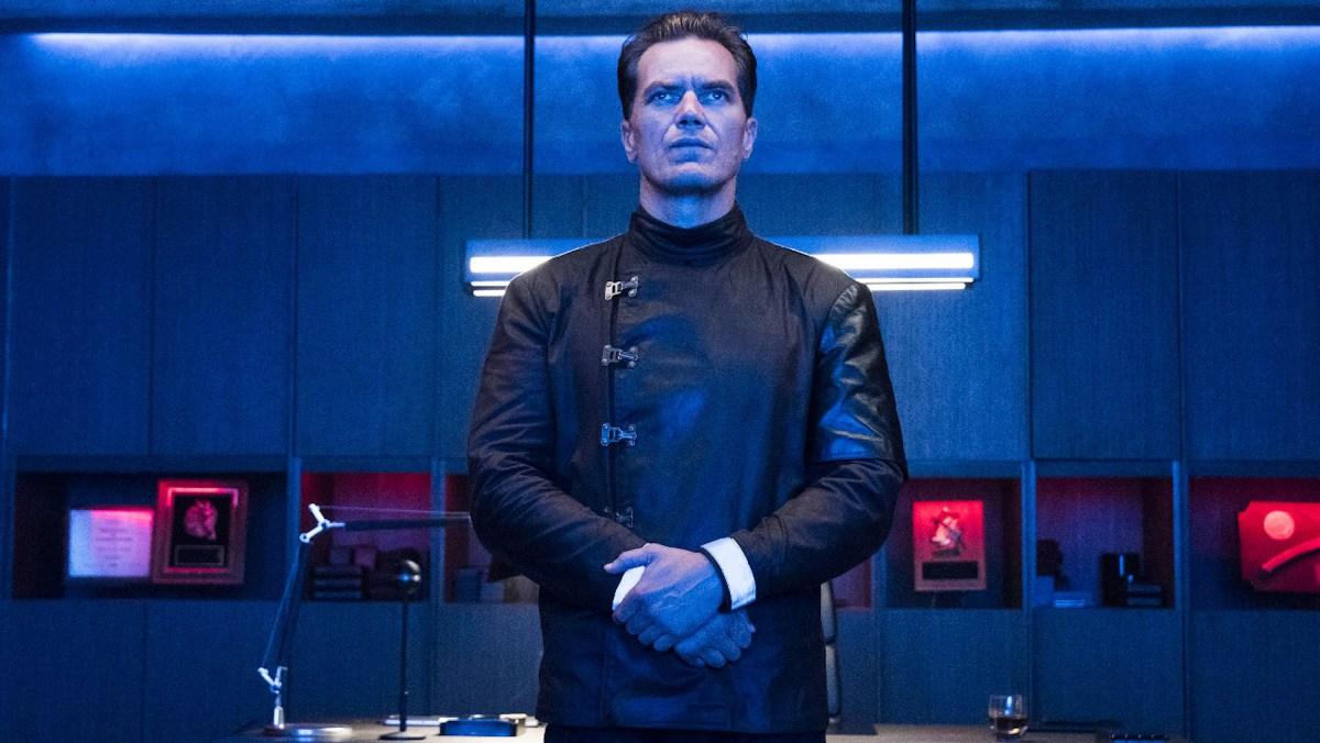 Michael Shannon in 'Fahrenheit 451.' (HBO)