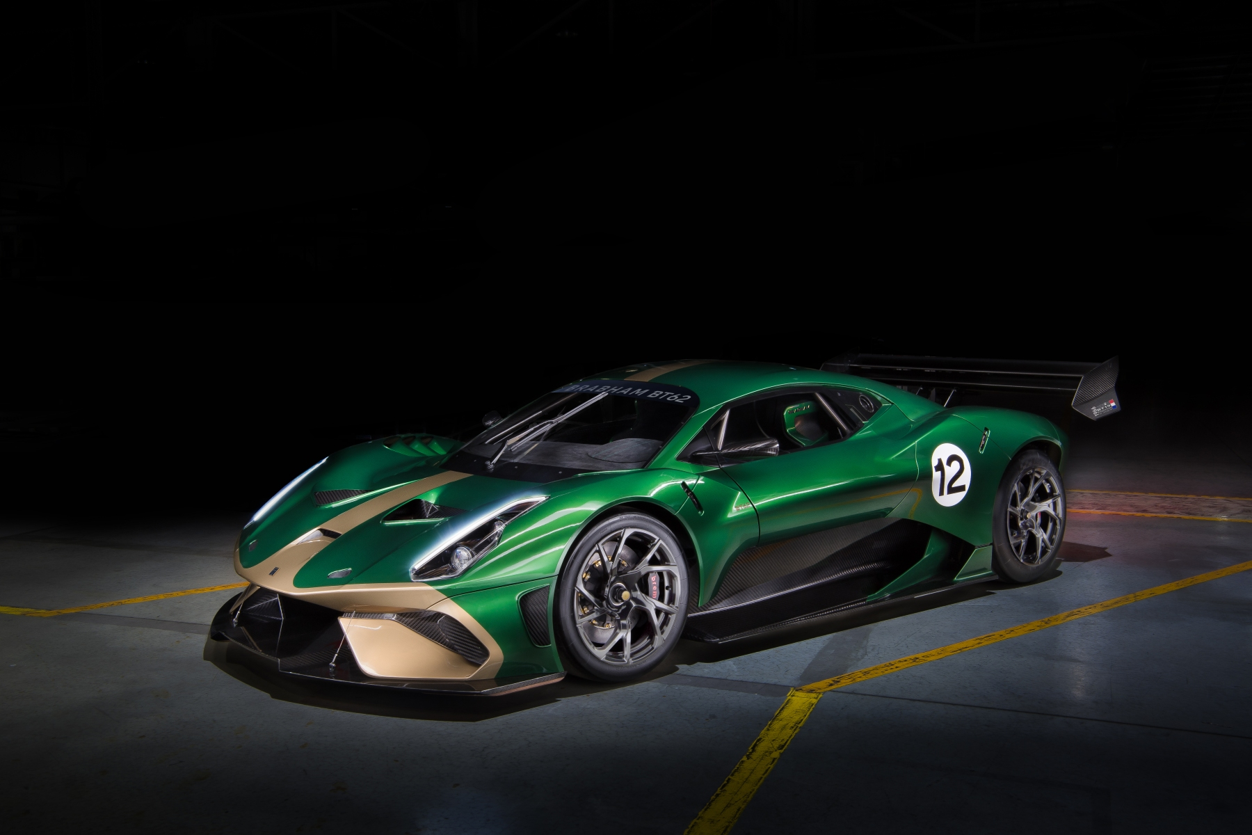 Brabham BT62 Front Quarter View (Brabham Automotive)