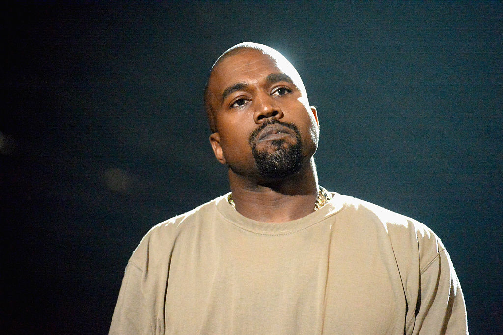 ed6cb8f43 Kanye West onstage during the 2015 MTV Video Music Awards at Microsoft  Theater on August 30