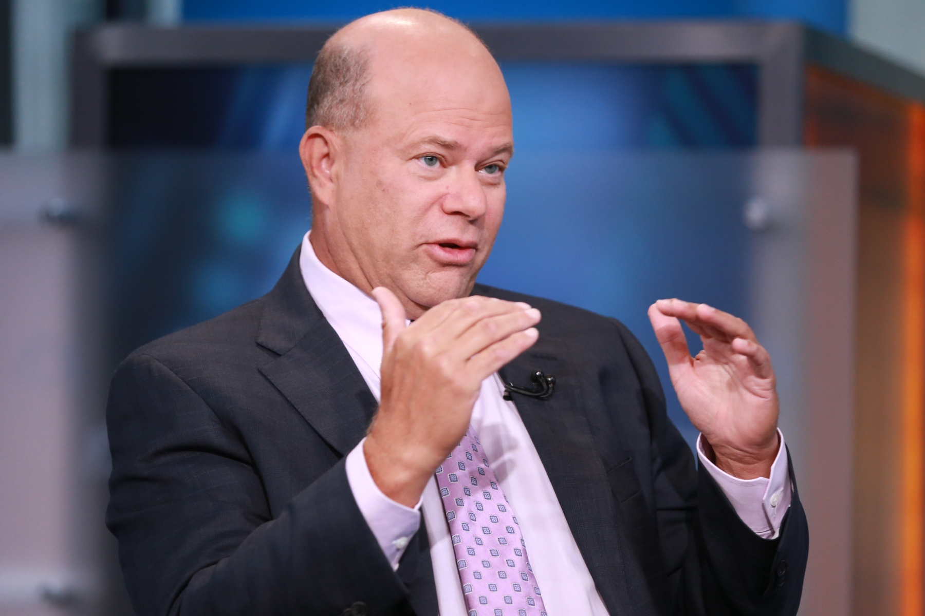 David Tepper, president and founder of Appaloosa Management, in an interview on September 10, 2015 -- (Photo by: David Orrell/CNBC/NBCU Photo Bank via Getty Images)
