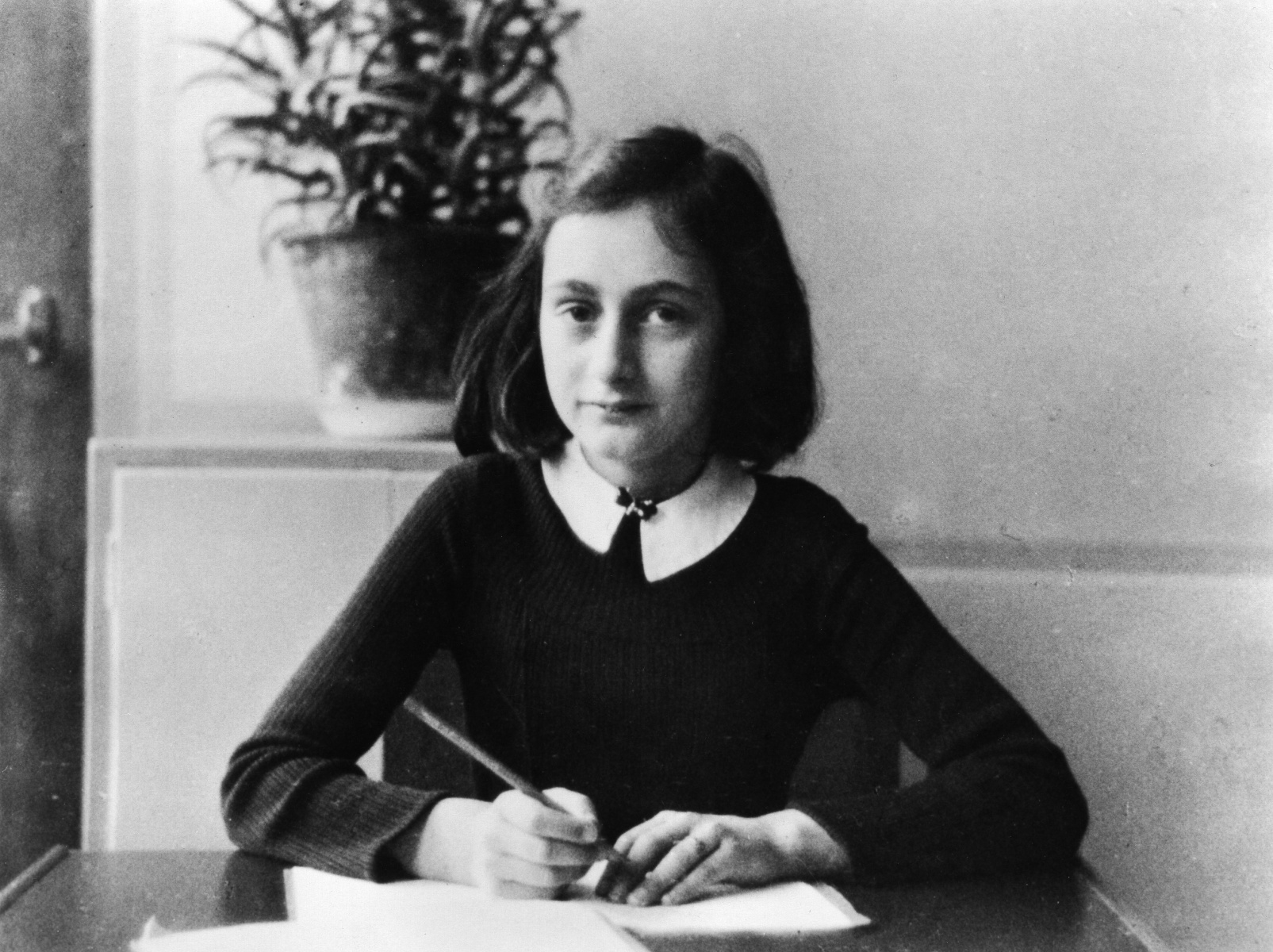 12-year-old Anne Frank in 1941