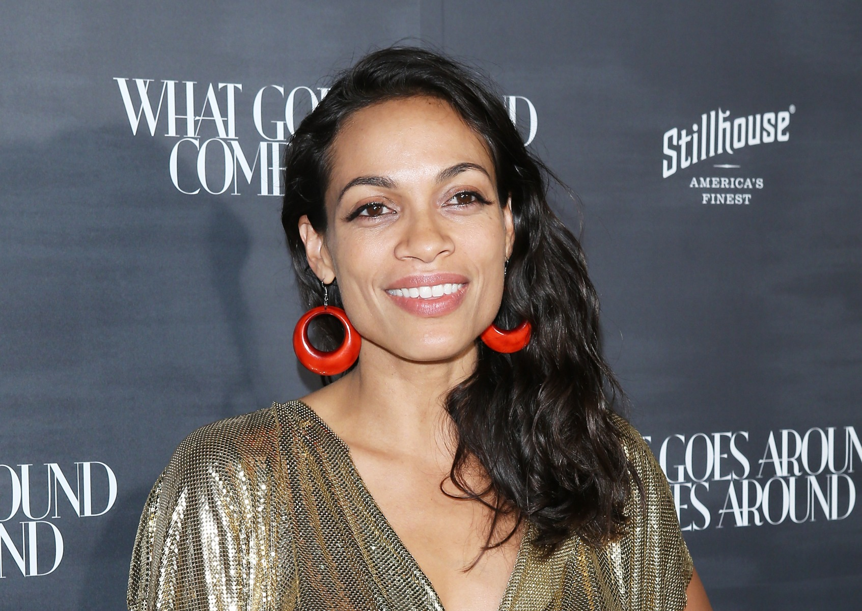 Rosario Dawson Stripped Down on Instagram for Her 39th