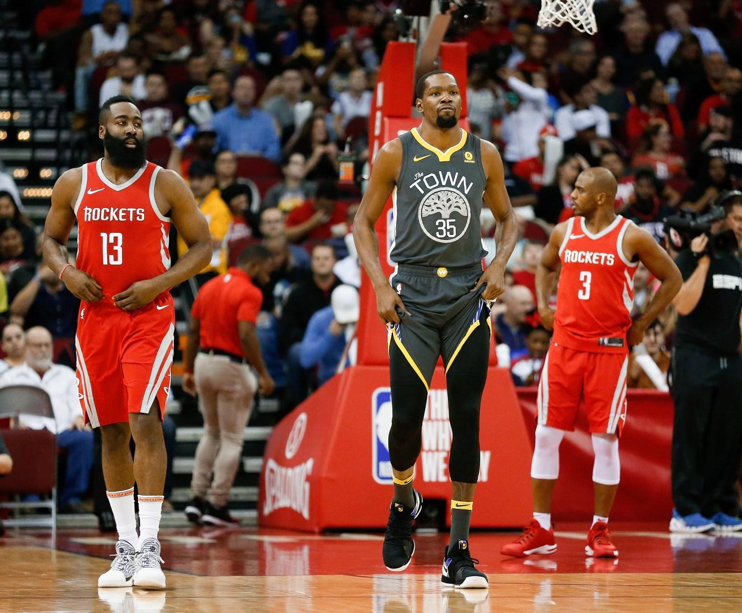 44318359d99 NBA Playoffs  Possible Rockets Warriors Matchup Looms Large - InsideHook