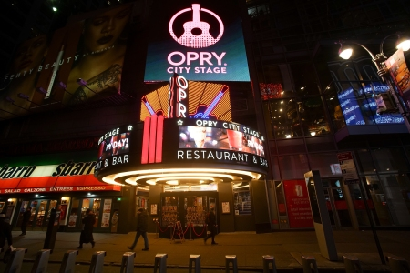 A general view of The Studio  Opry City Stage resturant at Opry City Stage on January 31, 2018 in New York City.  (Bennett Raglin/Getty Images)
