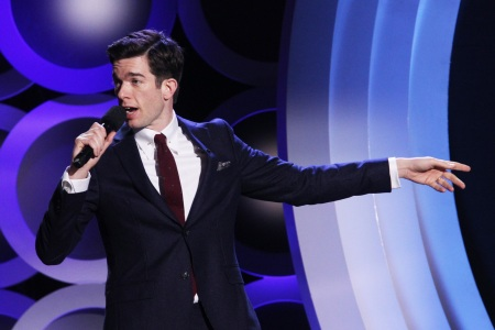 SANTA MONICA, CA - MARCH 03:  Co-host John Mulaney speaks onstage during the 2018 Film Independent Spirit Awards on March 3, 2018 in Santa Monica, California.  (Photo by Tommaso Boddi/Getty Images)