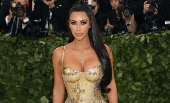 """Kim Kardashian West attends """"Heavenly Bodies: Fashion & the Catholic Imagination"""", the 2018 Costume Institute Benefit at Metropolitan Museum of Art on May 7, 2018 in New York City.  (Photo by Taylor Hill/Getty Images)"""