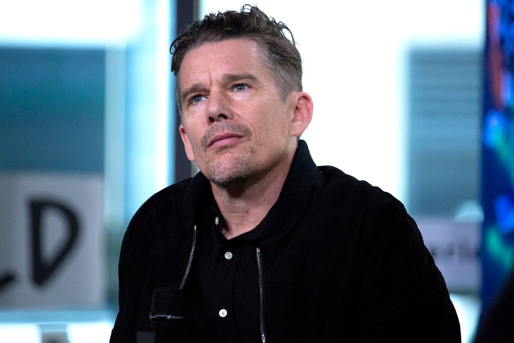 NEW YORK, NY - MAY 15: Ethan Hawke visits AOL Build at Build Studio on May 15, 2018 in New York City. (Photo by Santiago Felipe/Getty Images)