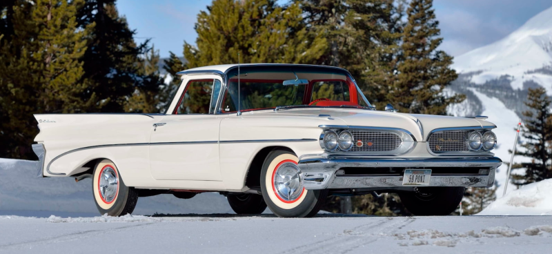 The Only Completed El Catalina Prototype Produced By Pontiac Me Auctions