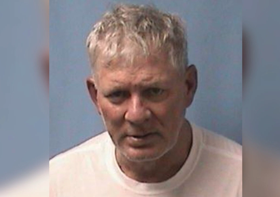 This mugshot distributed by the Linden Police Department shows Lenny Dykstra. (Linden Police Department)