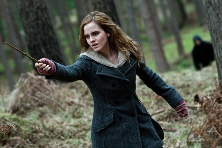 "Emma Watson as Hermonie Granger in ""Harry Potter and the Deathly Hallows: Part 1"" (Getty)"