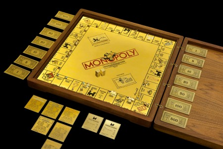 Sidney Mobell Monopoly Set worth $2 million. (Museum of American Finance/Flickr)
