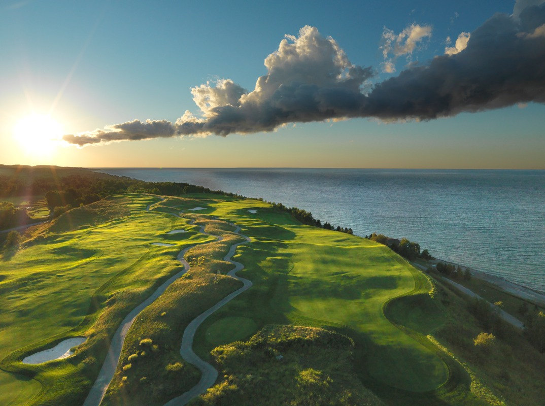 7th Hole at Bay Harbor Golf Club in Bay Harbor, Michigan (Bay Harbor Golf Club)