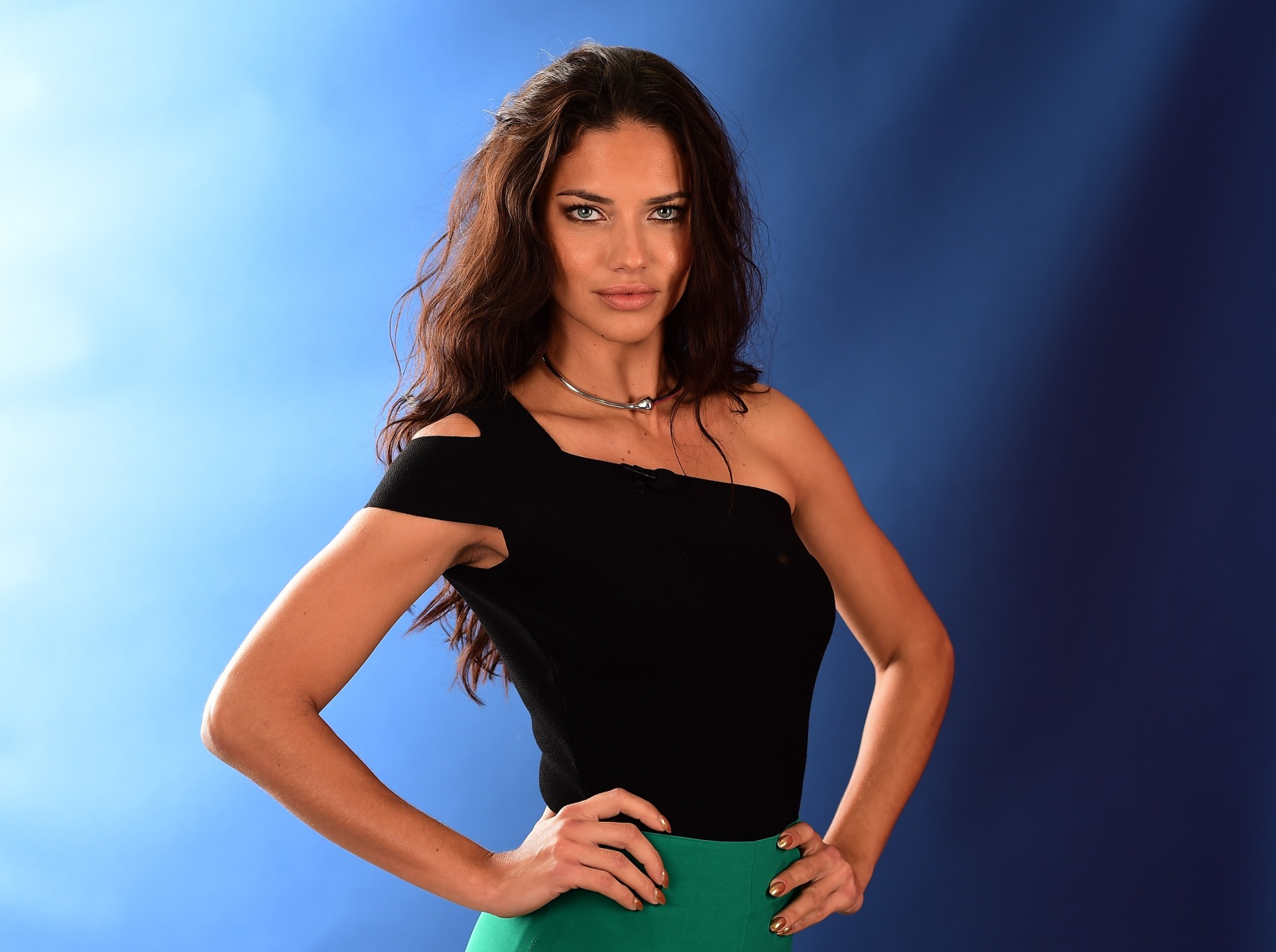 Model Adriana Lima poses for a photo on the NBC Today show set on Copacabana Beach on August 8, 2016 in Rio de Janeiro, Brazil.  (Photo by Harry How/Getty Images)