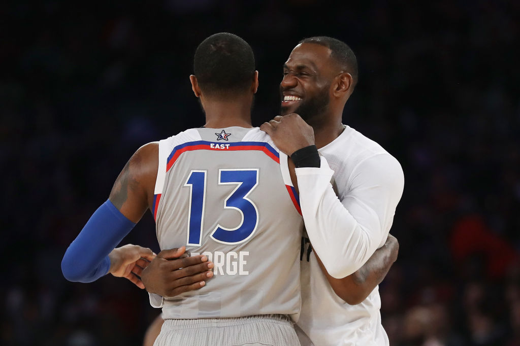 lowest price 17605 7f924 How Paul George's OKC Decision Affects the Summer of LeBron ...