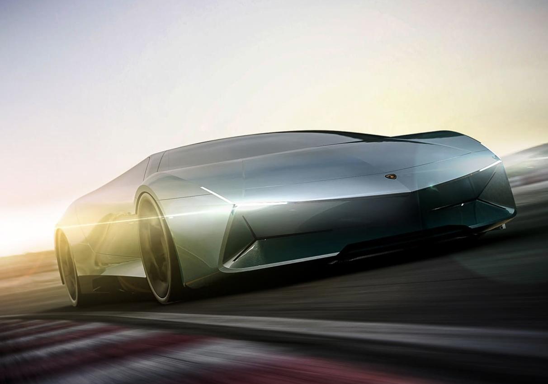 All,Electric Lamborghini Concepts Offer Glimpse of the