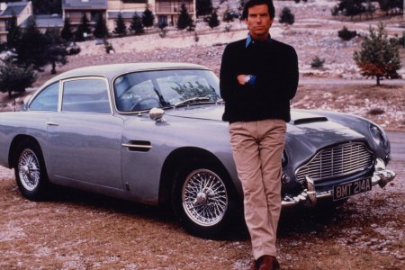 "Pierce Brosnan's ""GoldenEye"" Aston Martin Would Be a Jolly Good Father's Day Gift"