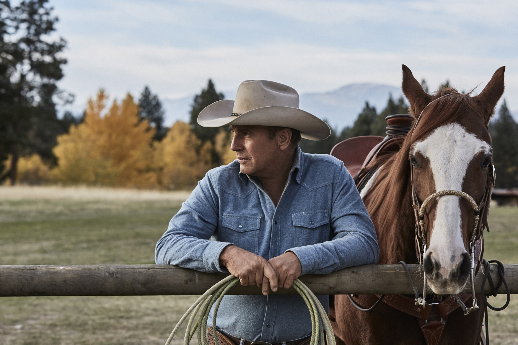 Kevin Costner in 'Yellowstone.' (Paramount)