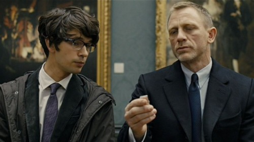 """James Bond and Q in """"Skyfall"""" (via YouTube)"""