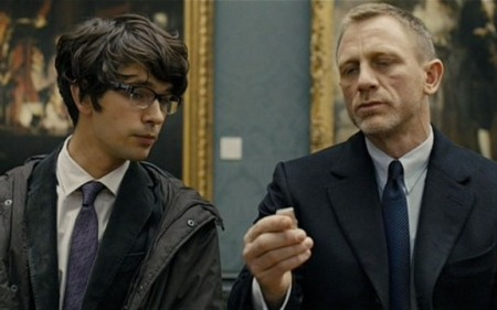 "James Bond and Q in ""Skyfall"" (via YouTube)"
