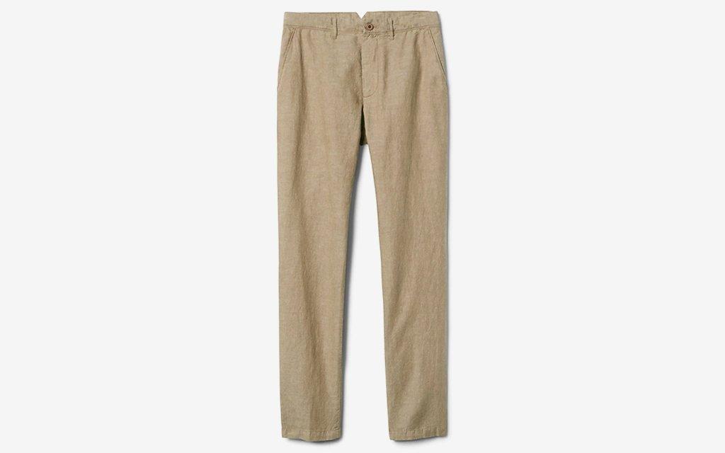 Gap Slim Linen Khakis