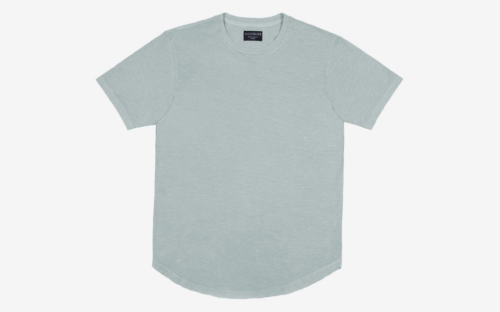 Goodlife Sun-Faded Scallop Tee