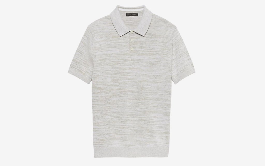 Banana Republic Cotton-Linen Polo