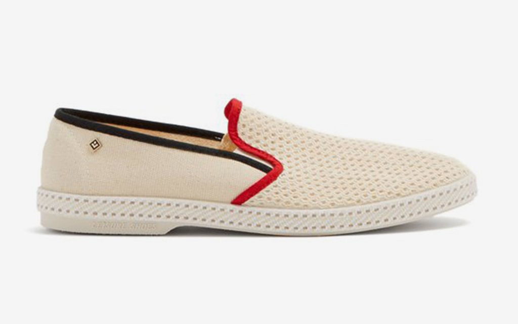 Toure du Monde Canvas Loafers