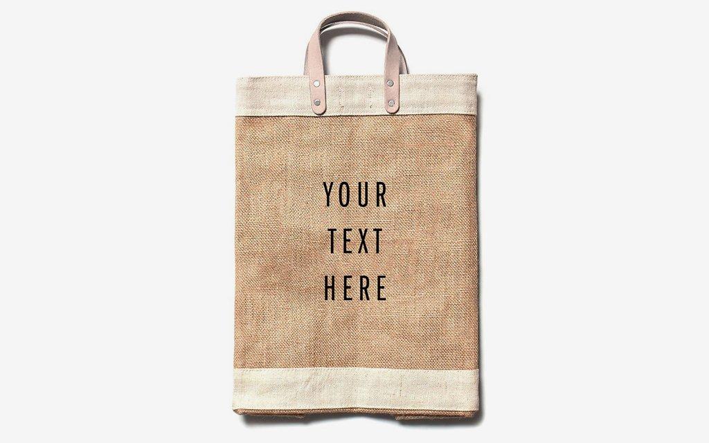 Apolis Custom Market Bag