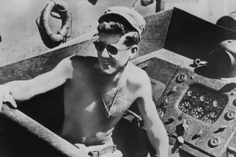 Lt. John F. Kennedy. (Denver Post via Getty Images)